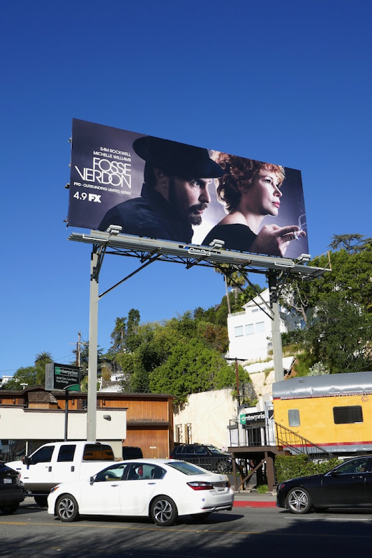 Fosse Verdon series launch billboard