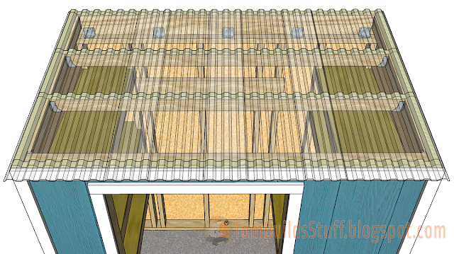 Lil Bit of Everything Garden Shed Plans