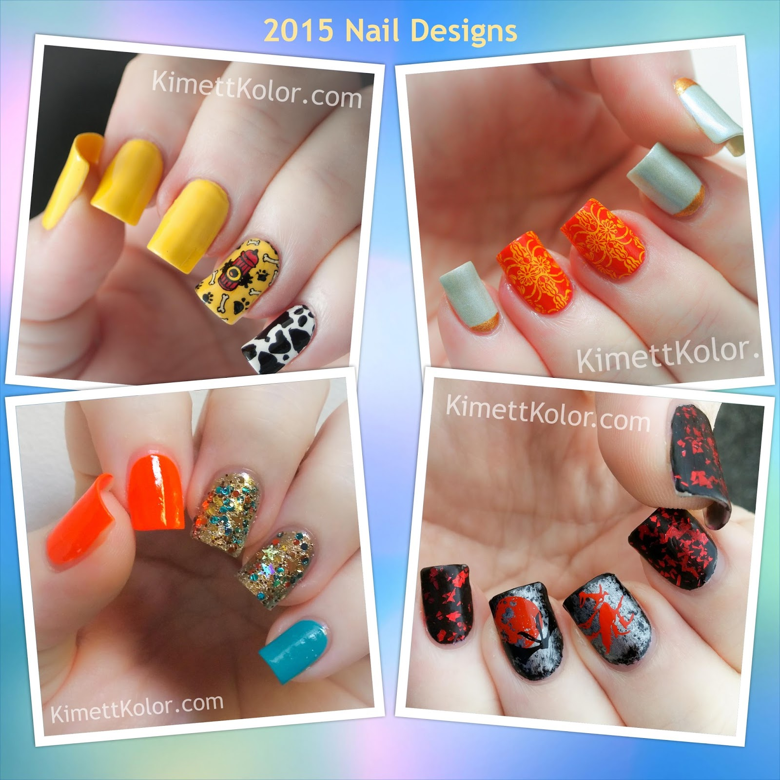 2015 Nail Designs by KimettKolor.com