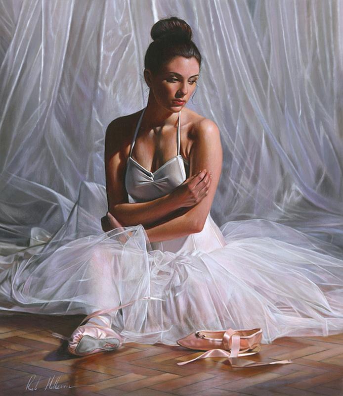 Rob Hefferan 1968 | British Figurative painter | It's Time To Dance