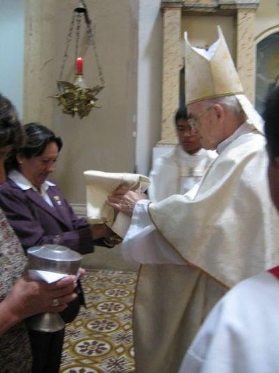 la Santa Misa paso a paso Rito de las ofrendas