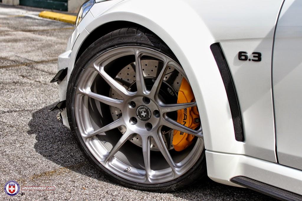 Mercedes Benz C63 Amg Black Series On Hre Performance