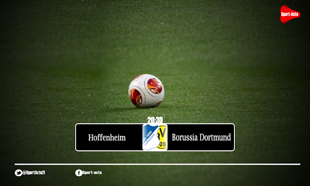 مباراة بوروسيا دورتموند x  هوفنهايم