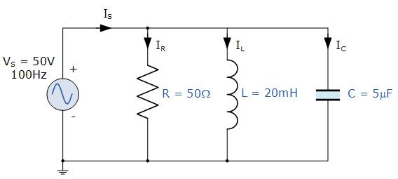 Circuito Rlc : Paralelo circuito rlc y análisis del