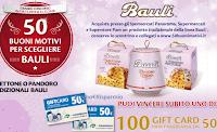 Logo Bauli ''50BuoniMotivi'': vinci 250 buoni spesa da 50€