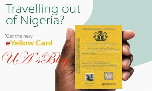 ALERT: Non-electronic yellow card will be invalid from April