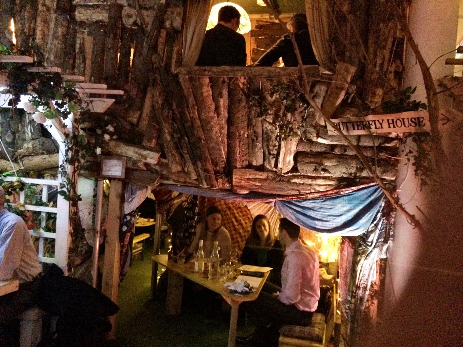 The beehive beneath the treehouse - Lost Gardens Of Gingerline