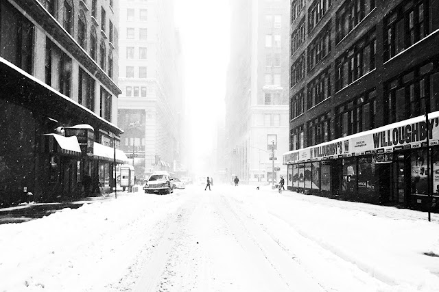 Storm Jonas NYC, January 2016 - travel blog