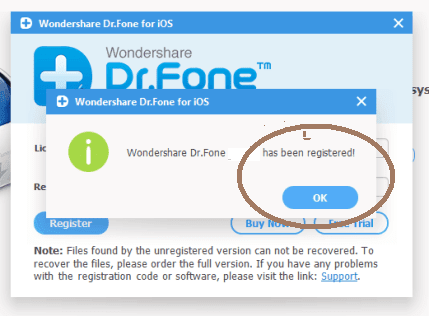 wondershare dr.fone for android register code