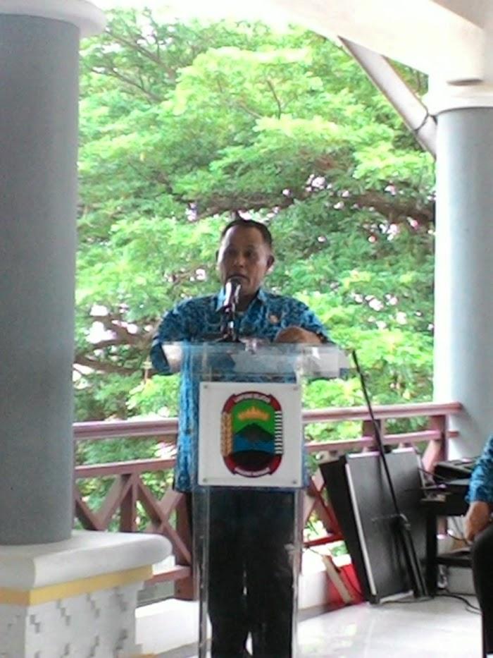 Plt Bupati Himbau Mars Lamsel Jadikan Lagu Wajib.