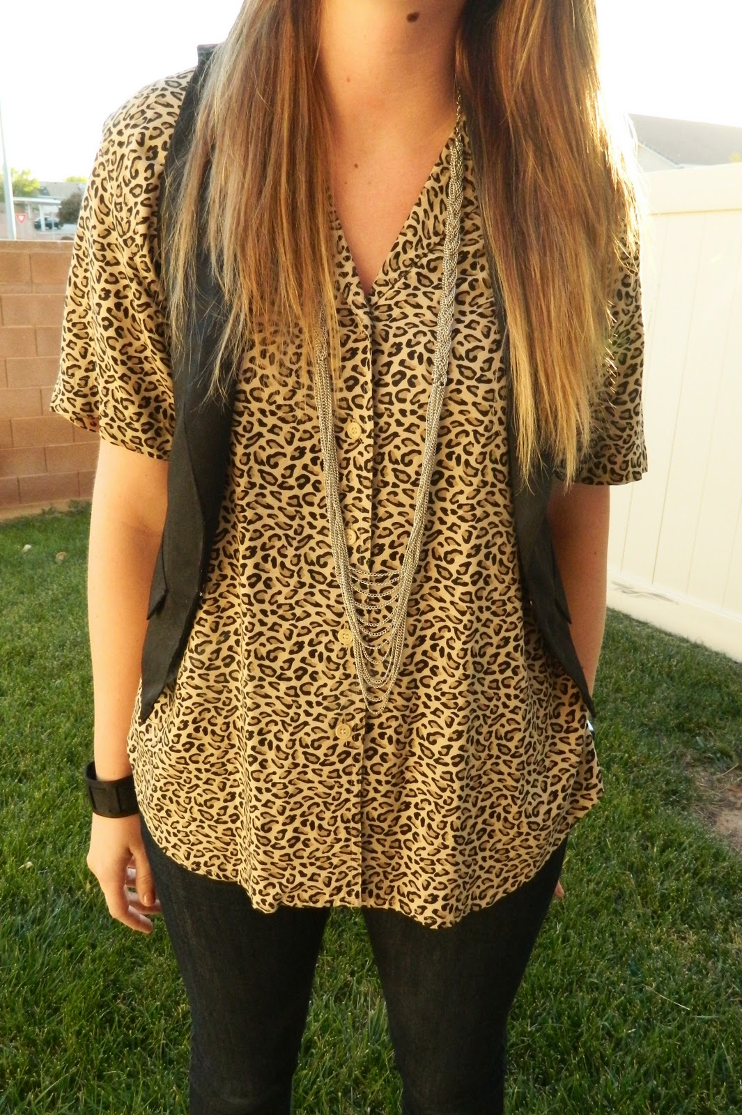leopard print, Casual Outfit, Utah Fashion Blogger