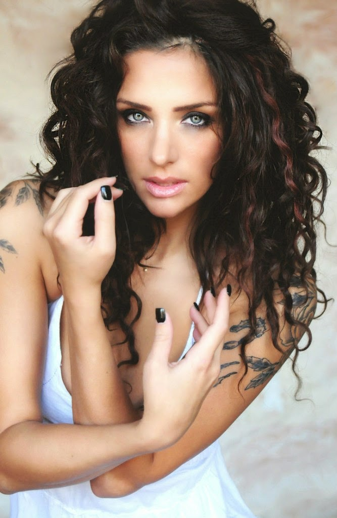 Hope Mitchell - Sexy Tattooed Girls Female Models With Tattoos