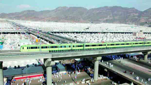 MASHAER TRAIN TO SERVE HAJJ PILGRIMS