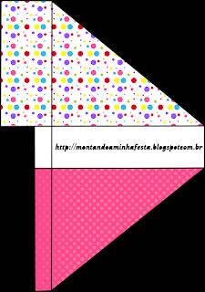 Puntos de Colores para Niña Para servilleteros.