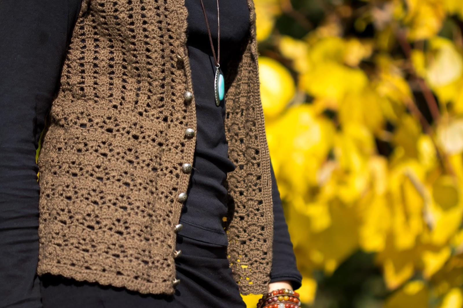 Fantastic Frauen Häkeln Weste Muster Embellishment - Decke Stricken ...