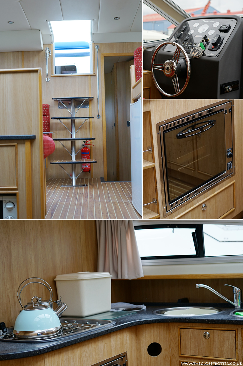 Interiors of the Olympic Light Cruiser Boat from Herbert Woods