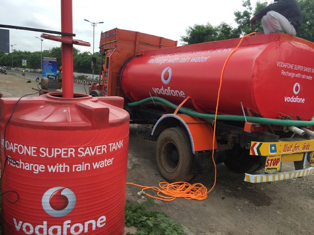 VODAFONE M&G CONSERVES RAIN WATER FOR PARCHED FARMERS
