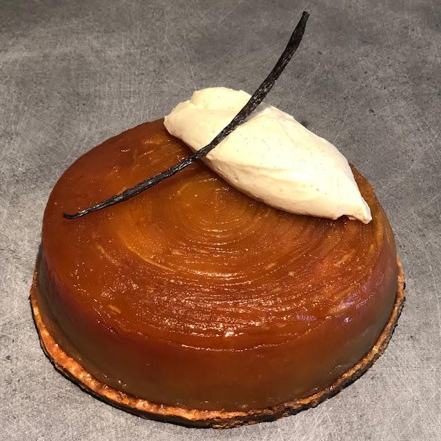 feuilleté pommes caramel vanille coupe lanière kitchenaid