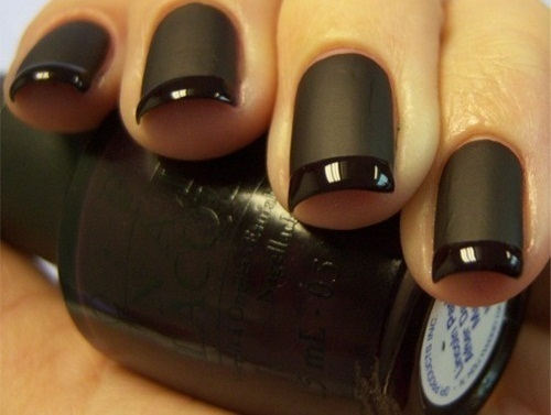 Has anyone been able to find matte black nail polish ...