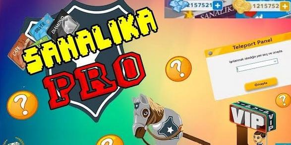 Sanalika PRO 2018 Sınırsız Diamond,Sanıl,Teleport Hack