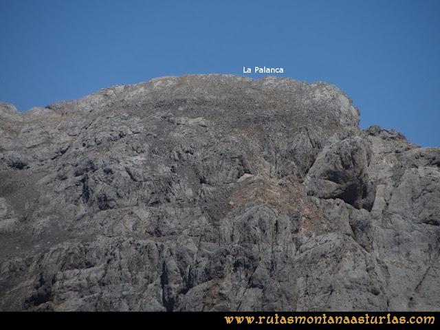 Ruta a la Torre del Friero: Vista de la Palanca