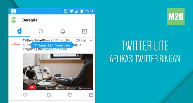 laman tersebut yaitu versi ringan dari situs web Twitter Twitter Lite: Aplikasi Twitter Ringan untuk Android