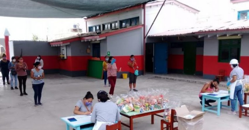 QALI WARMA: 100% de escuelas en Ica recibieron servicio alimentario en la modalidad productos - www.qaliwarma.gob.pe