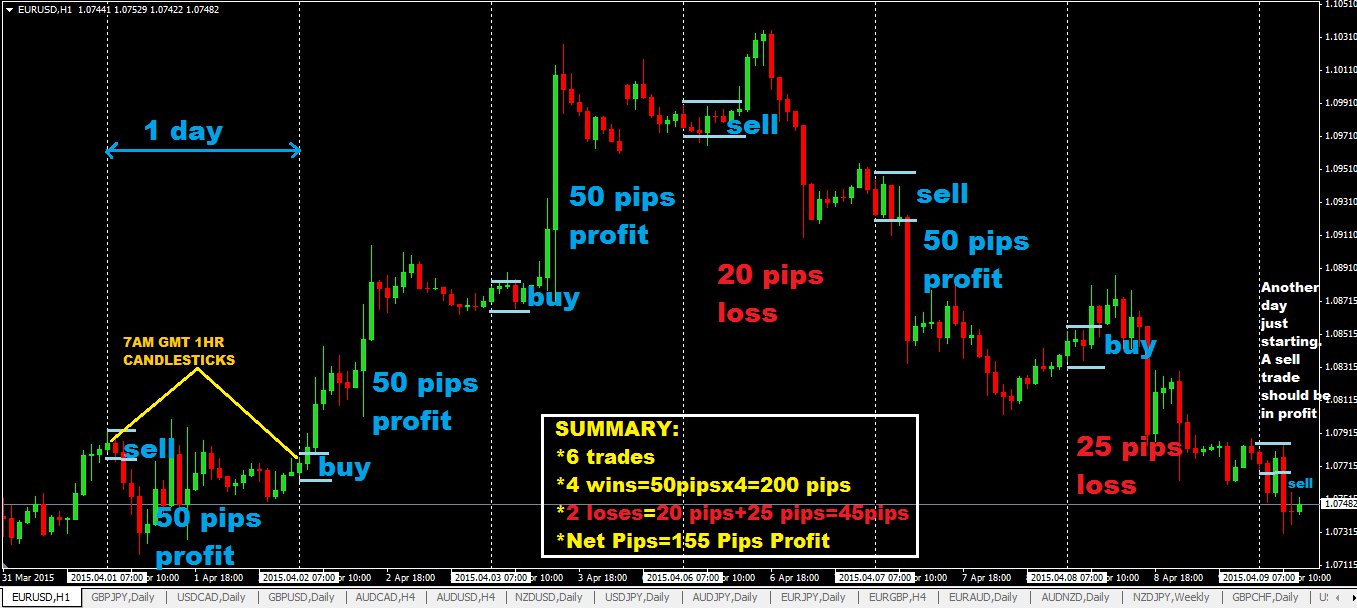 Forex 5 pips per day