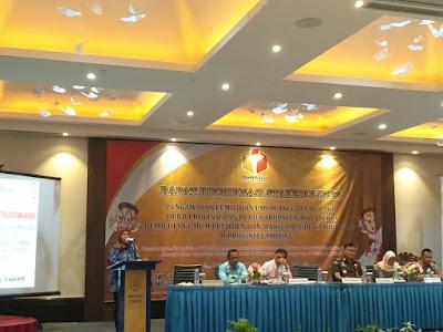 Bawaslu Lampung Mantapkan Sinergisitas Pengawasan