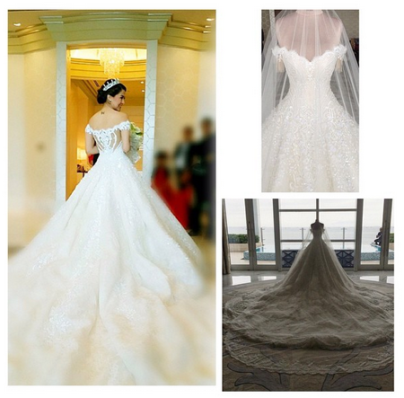 marian rivera wedding gown ideas