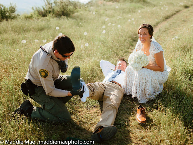 This Man Was Attacked By A Rattlesnake While They're In The Middle Of His Wedding Photoshoot!