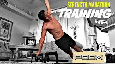 my strength marathon training program with p90x  arnel banawa
