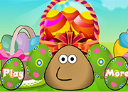 Pou Decora canasta de Huevos de Pascua