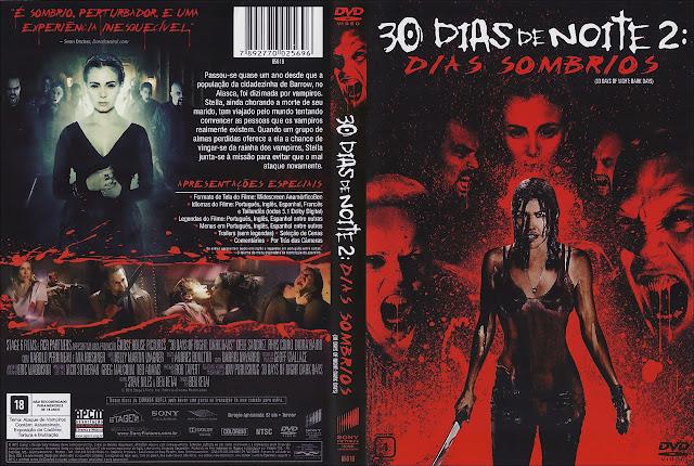 Capa DVD 30 DIAS DE NOITE 2: DIAS SOMBRIOS