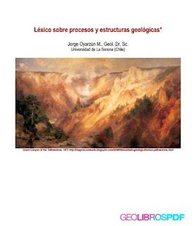 Lexico sobre procesos y estructuras geologicas - Oyarzun | descargar gratis