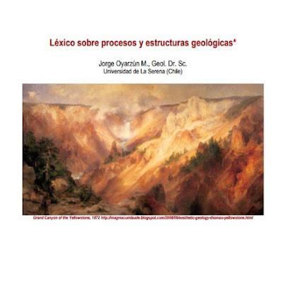 Lexico de procesos y estructuras geologicas