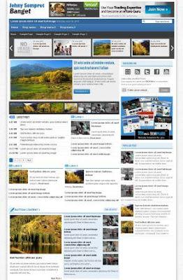 Template Blog SEO Friendly 100% Valid HTML5