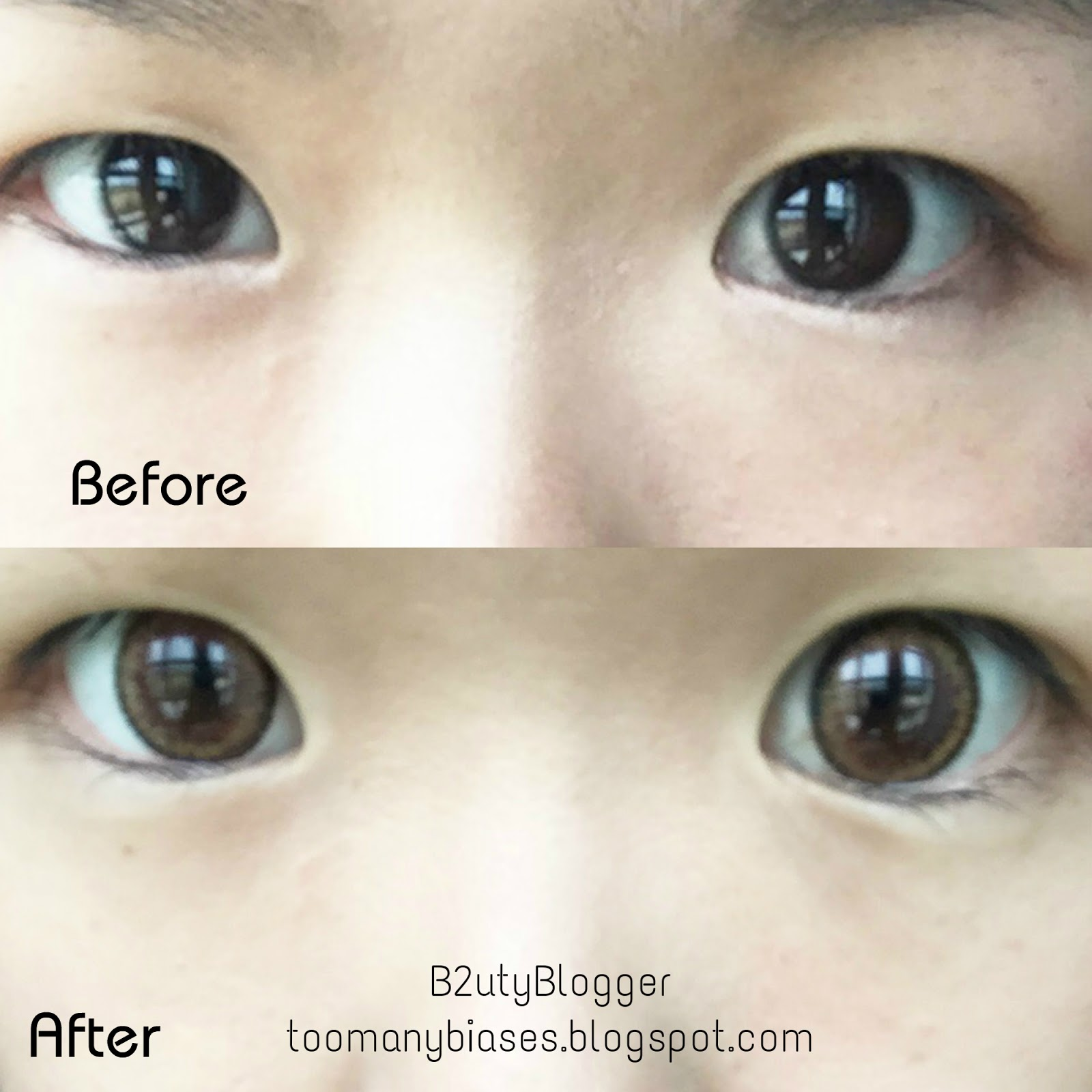 Review: EOS Cat Eyes Brown (First Time Wearing Lenses ...
