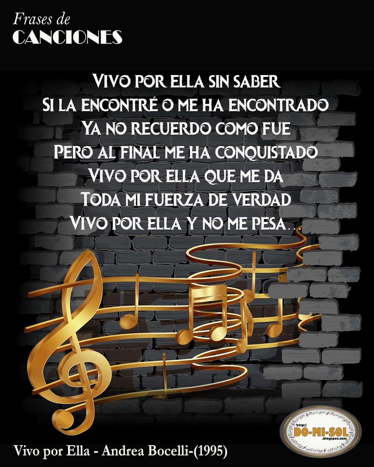 Do Mi Sol Frases De Canciones