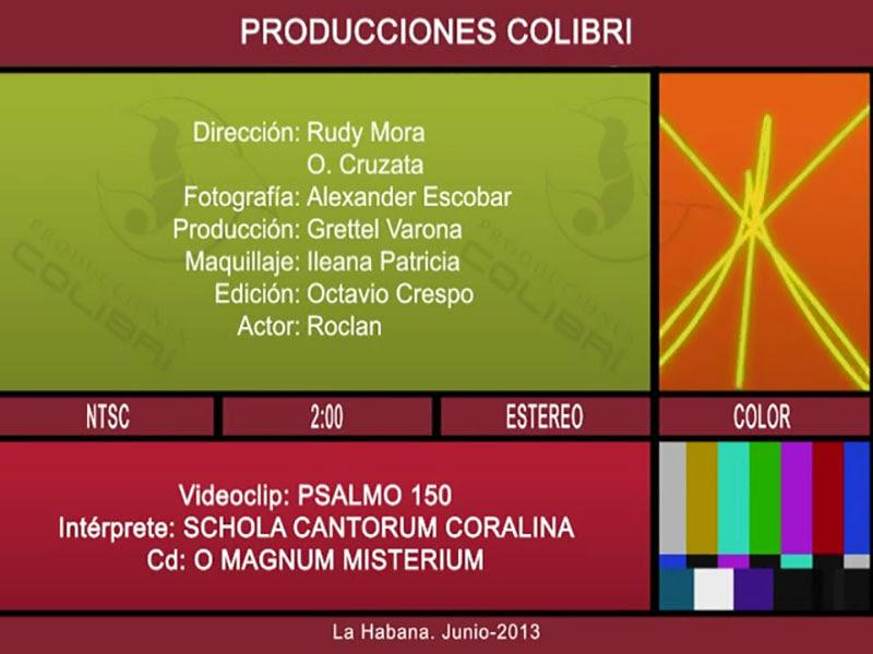 Schola Cantorum Coralina - ¨Psalmo 150¨ - Videoclip - Dirección: Rudy Mora - Orlando Cruzata. Portal Del Vídeo Clip Cubano - 10