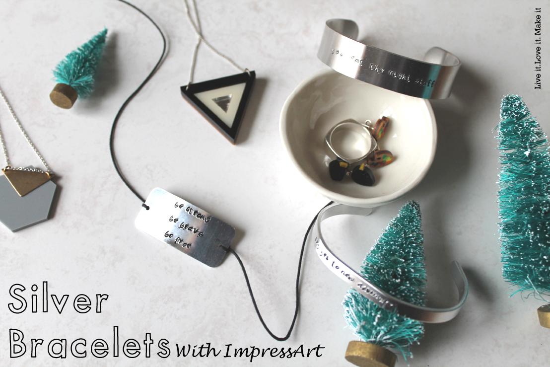 Make it: Silver Bracelets with ImpressArt