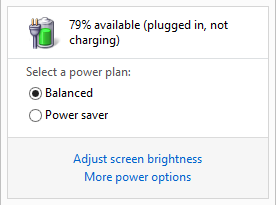 Baterai Not Charging