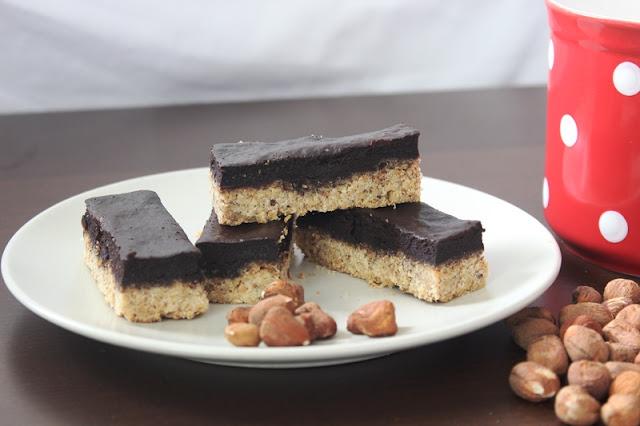 Lieskovcovo čokoládové tyčinky