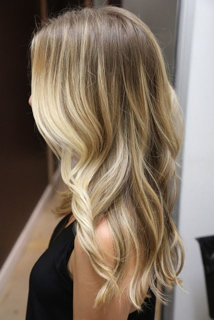 Sarı Ombre Saç Modelleri Ve Saç Rengi Tonları 2018