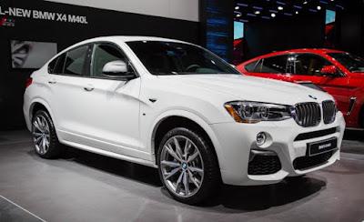 Kereta SUV BMW X4 2016
