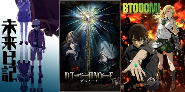 anime psychological thriller terbaik