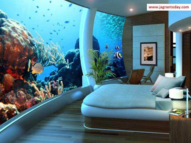 पानी के अंदर 5 अनोखे होटल