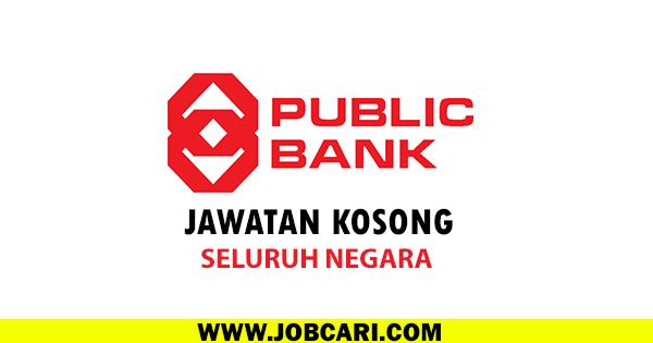 JAWATAN KOSONG DI PUBLIC BANK