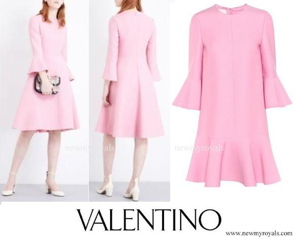 Valentino-Bell-sleeve-wool-and-silk-blend-dress.jpg