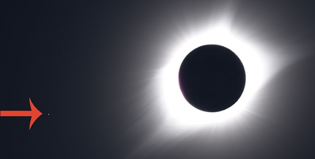 Volunteers are asked to classify photographs of the Aug. 21, 2017, total solar eclipse, including whether other objects - like the star Regulus - appear in the image.